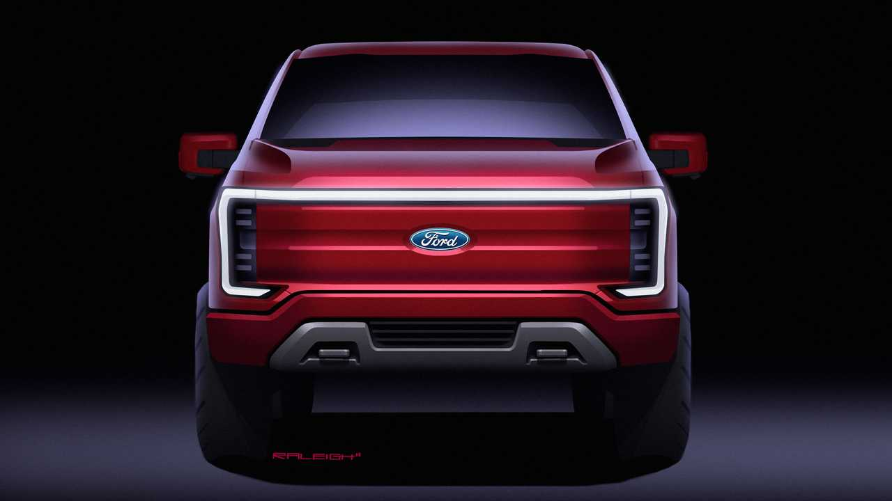 2022 Ford F-150 Lightning Sketches