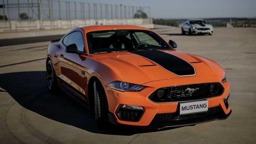 Nova geração do Ford Mustang estreia em 2022; híbrido em 2025