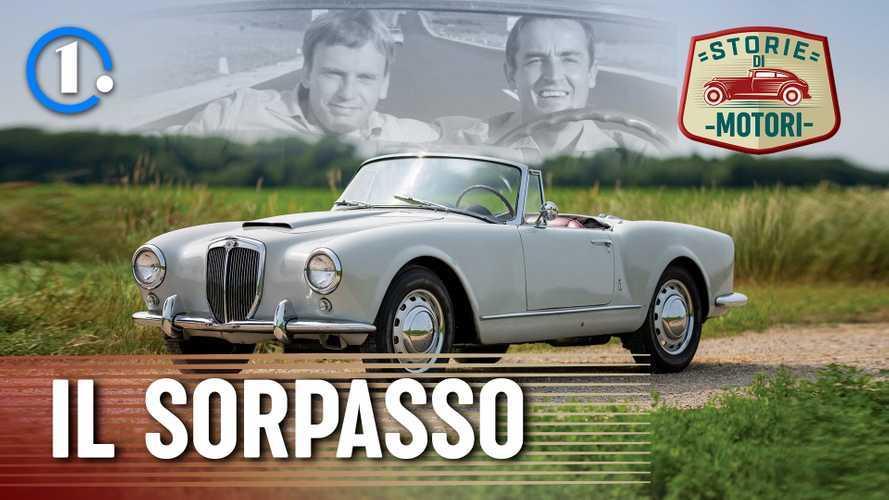Il Sorpasso, il film che ha reso la Lancia Aurelia un mito