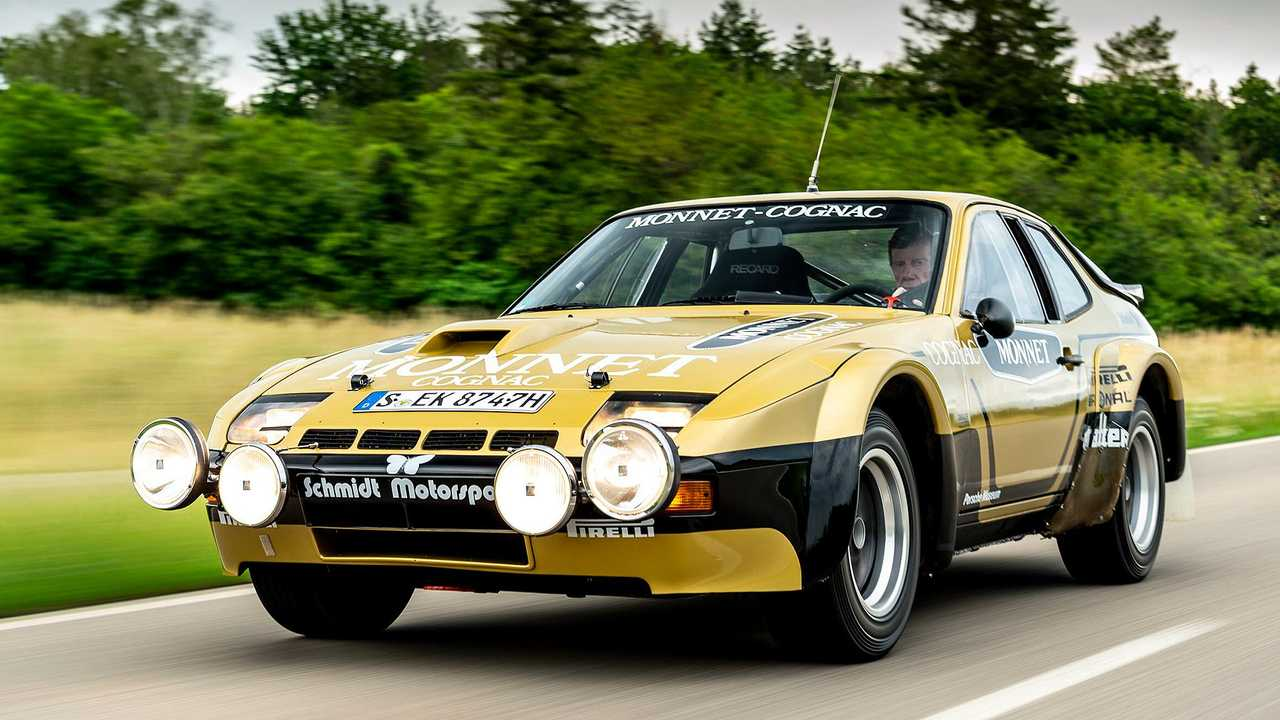 Porsche 924 Carrera GTS Rallye von 1981