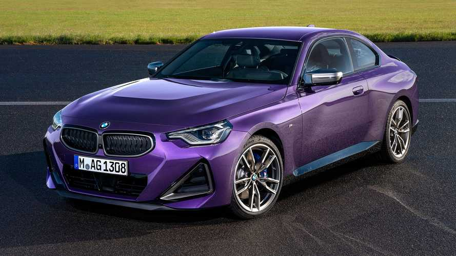 2022 BMW 2 Series Shows In Its Purple Metal Skin At Goodwood FoS
