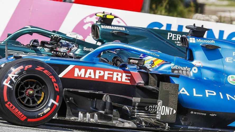Alonso pide a la FIA que se eviten líos en clasificación