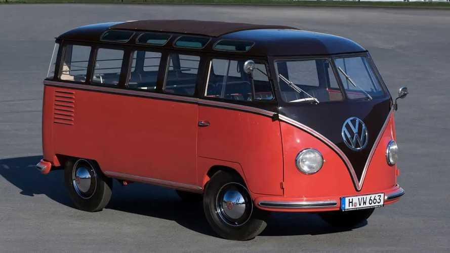 La mítica Volkswagen T1 Samba celebra su 70 aniversario
