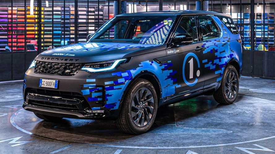 Mobil Kru Motor1.com, Land Rover Defender Garapan Garage Italia