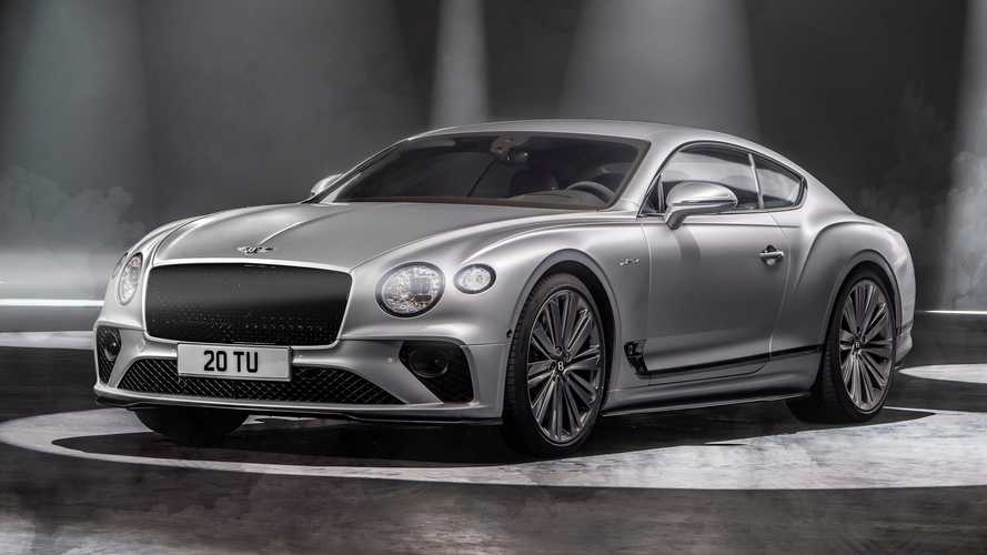 Представлен Continental GT Speed – быстрейший Bentley в истории