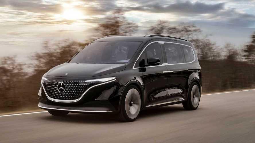 Mercedes-Benz Unveils EQT Electric Minivan Concept