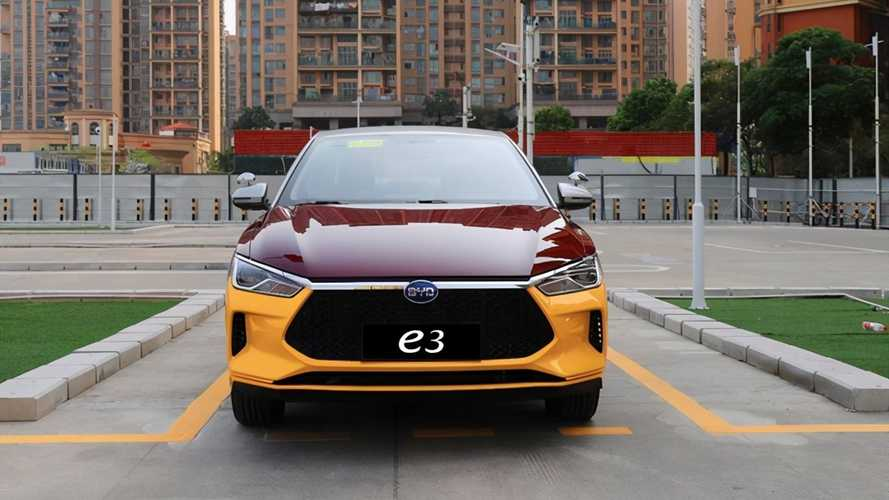 This Is The BYD E3 EV With A Manual Transmission For Driving Schools