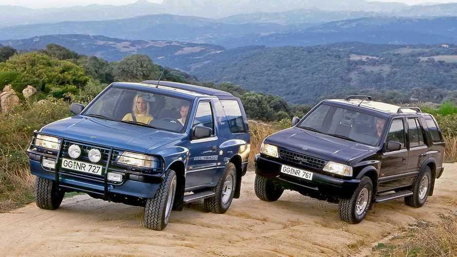 Opel Frontera feiert 30. Geburtstag