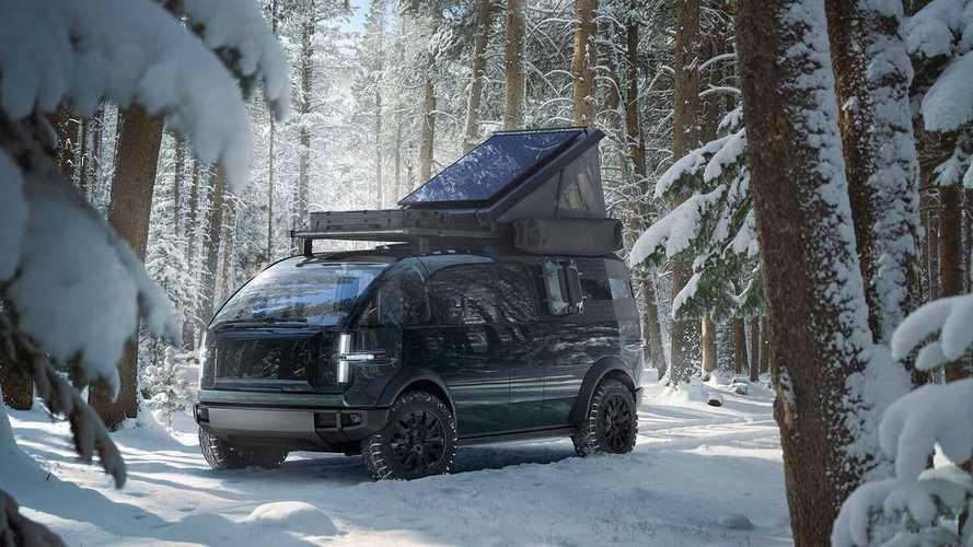 Canoo Inc. presenta il pickup elettrico che diventa camper