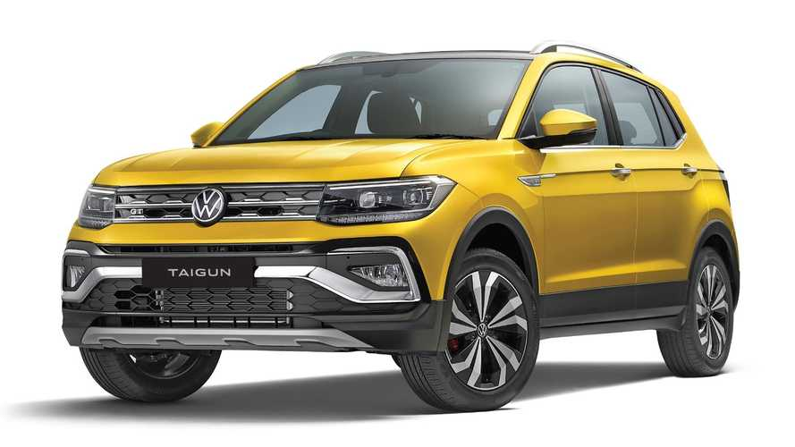 Volkswagen T-Cross estreia na Índia com visual exclusivo e nome Taigun