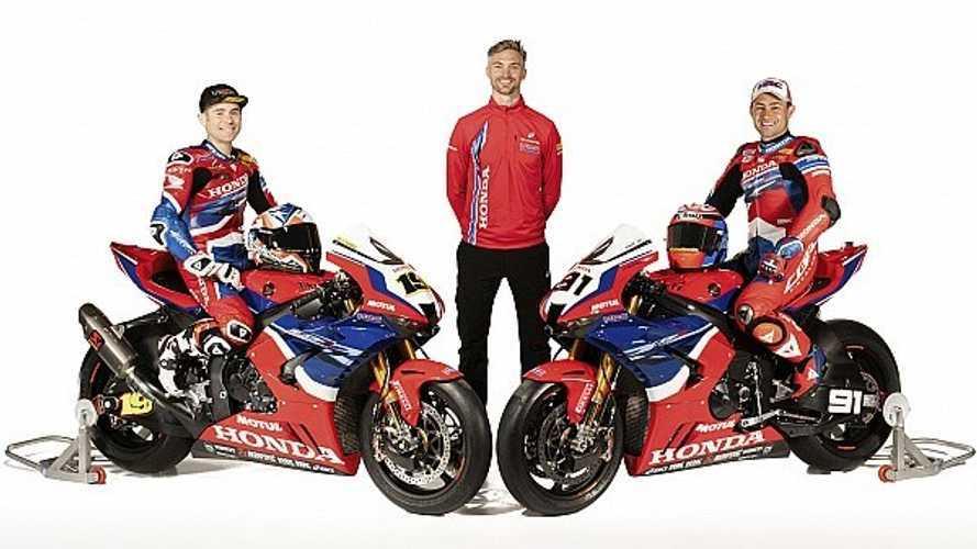 Honda Unveils 2021 Superbike World Championship Livery