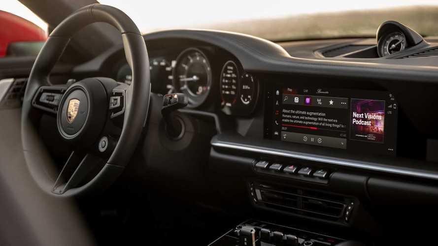 Porsche представил новую медиасистему с расширенным функционалом