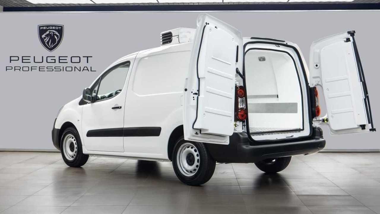 Изотермический фургон Peugeot Partner