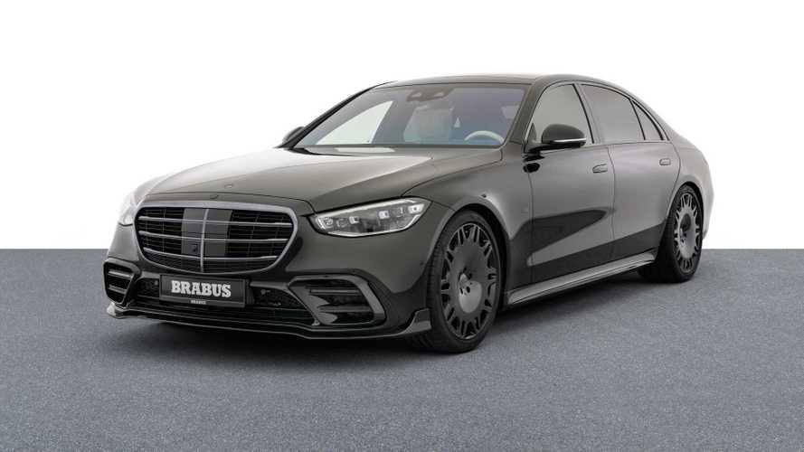 Mercedes Classe S, con Brabus è un salotto da 500 CV