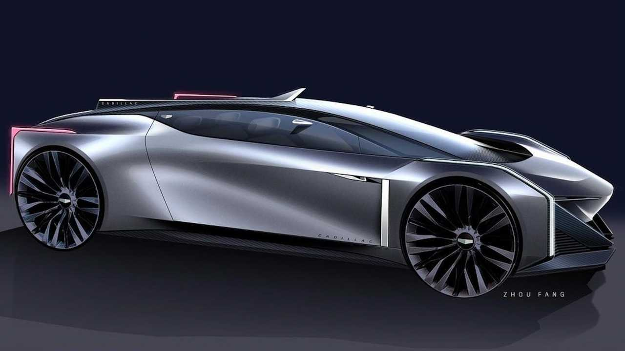 GM Design shares Cadillac coupe sketch.