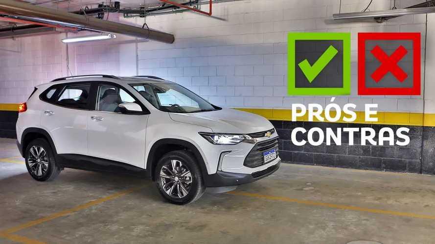 Chevrolet Tracker Premier 1.2 2022: Prós e Contras