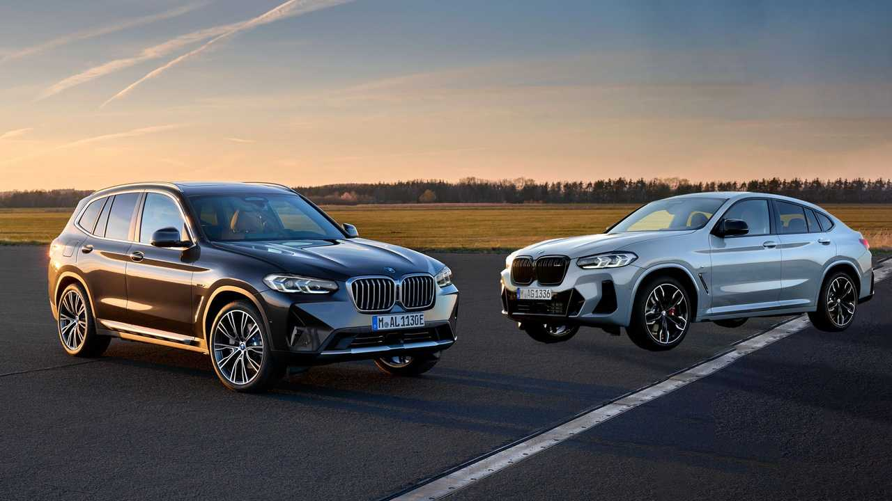 BMW X3 y X4 2021