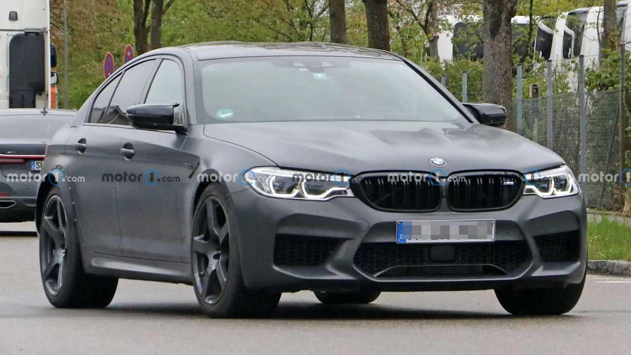 BMW M5 Spy Fotos