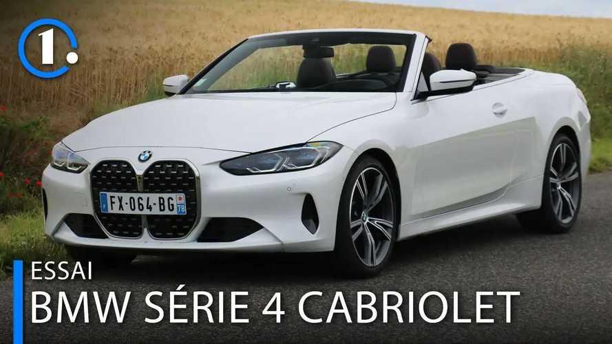 Essai BMW Série 4 Cabriolet (2021) - Quatre places sous le soleil