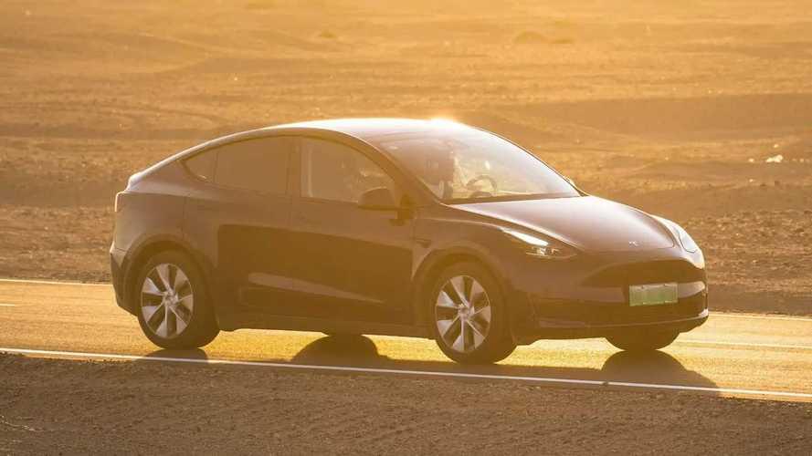 China: Tesla Model Y LR AWD Gets Almost 8% More Range