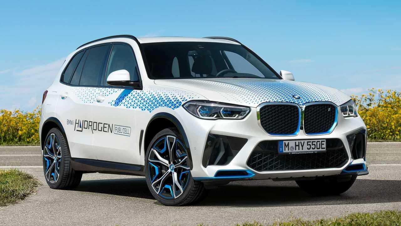 BMW zeigt den iX5 Hydrogen auf der IAA 2021