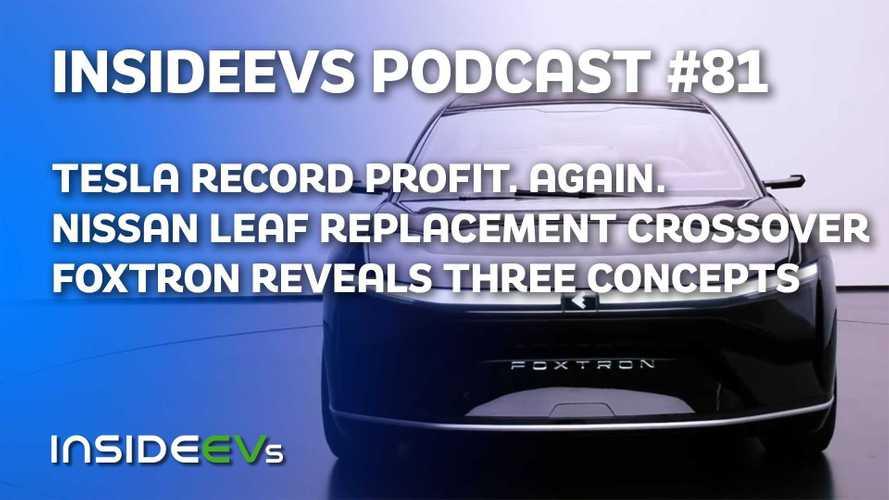Tesla Makes Record Profit, Foxtron Reveals First Three Vehicles