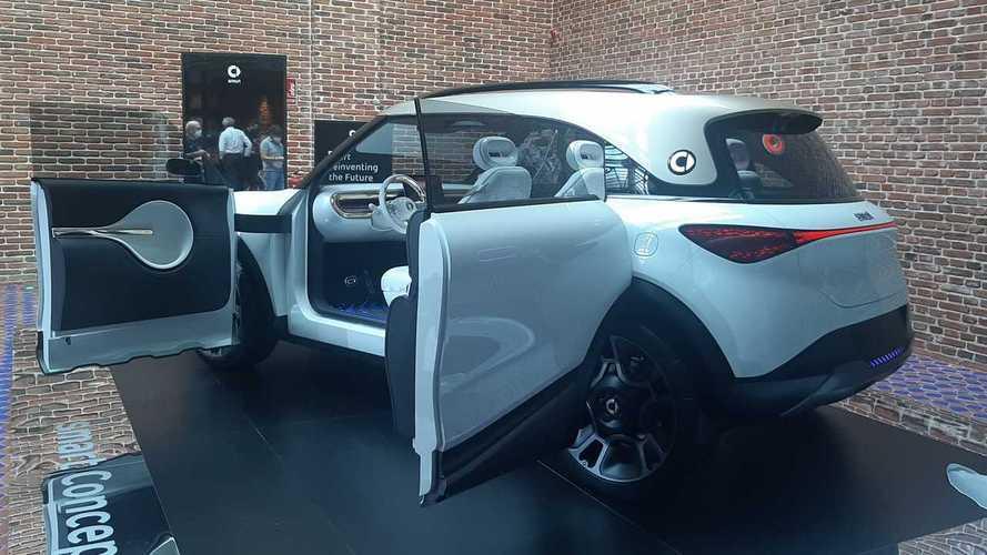 smart Concept #1: el prototipo de SUV eléctrico, en Madrid