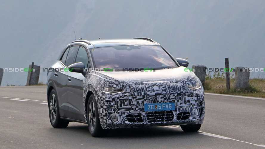 Cupra Tavascan Sporty Electric Crossover Spied... As A VW ID.4