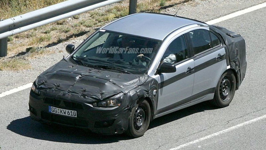 SPY PHOTOS: More Next Gen Mitsubishi Lancer