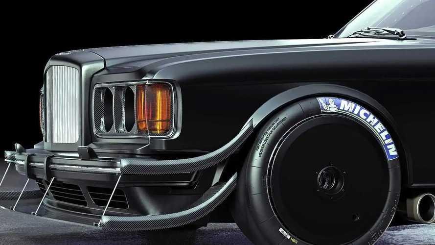 Rendering Bentley Turbo R Pikes Peak