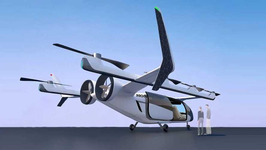 Honda cria conceito de aeronave elétrica e quer lançá-la em 2030