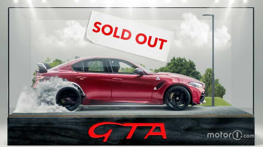 Alfa Romeo распродала все хардкорные «Джулии» GTA и GTAm