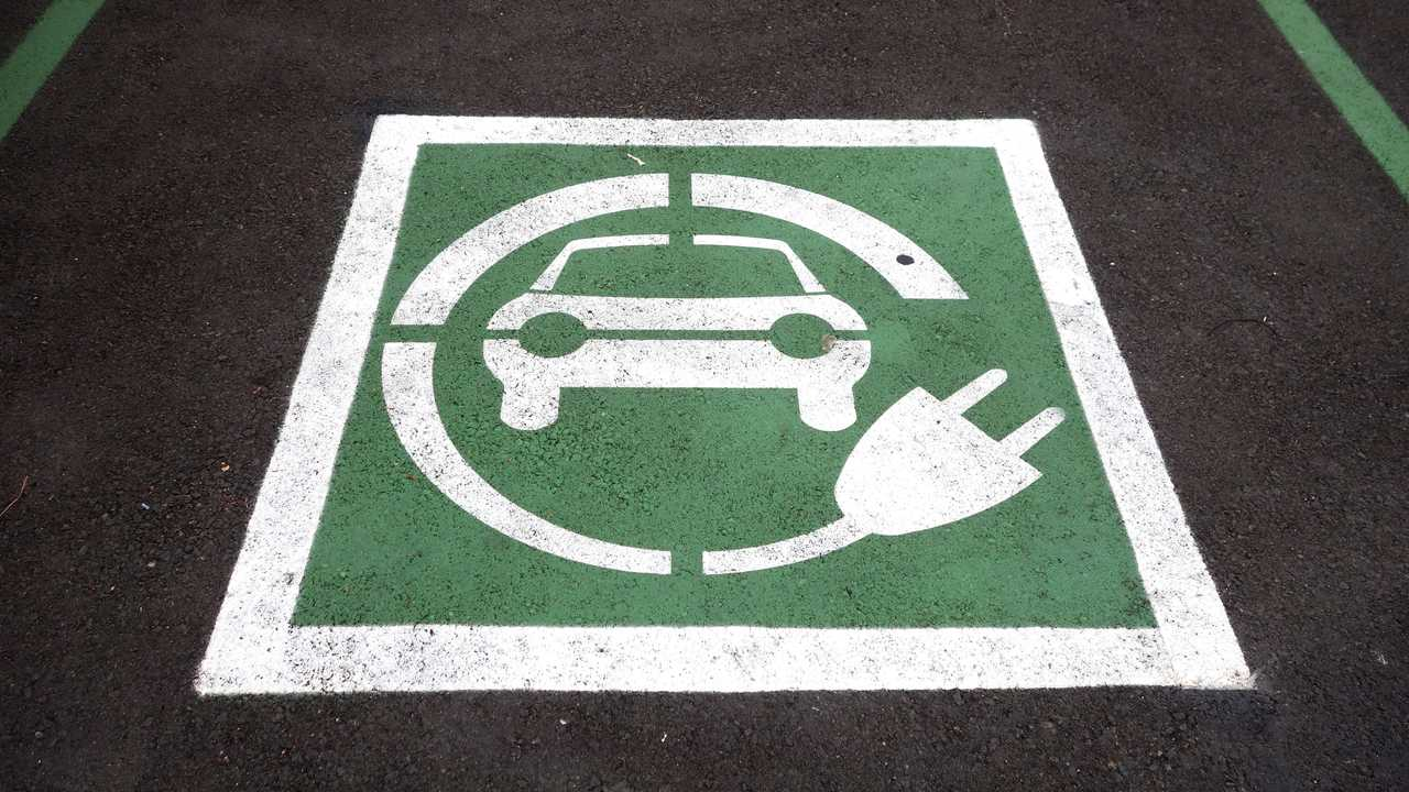 Electric Vehicle Parking Cropped