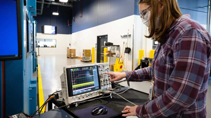 Ford Battery Benchmarking And Test Laboratory In Allen Park Michigan