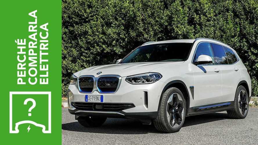 BMW iX3 (2021), perché comprarla elettrica e perché no