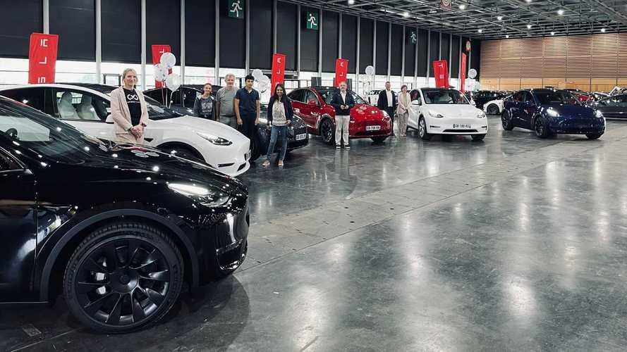 Livraison Tesla Model Y en France
