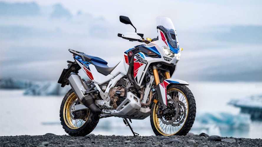 Así luce la nueva Honda CRF1100L Africa Twin 2022