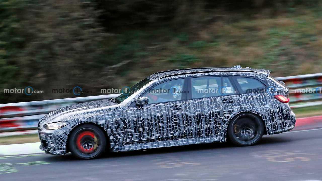 BMW M3 Touring frenata Nurburgring