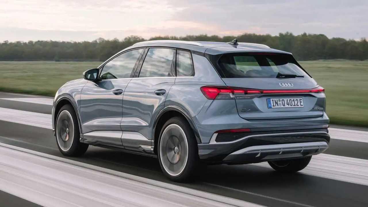 Den Audi Q4 e-tron gibt es nun auch mit 195-KW-Allradantrieb
