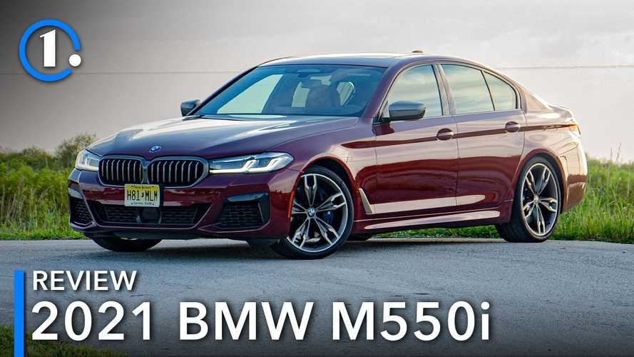 2021 BMW M550i Review: The Sweet Spot