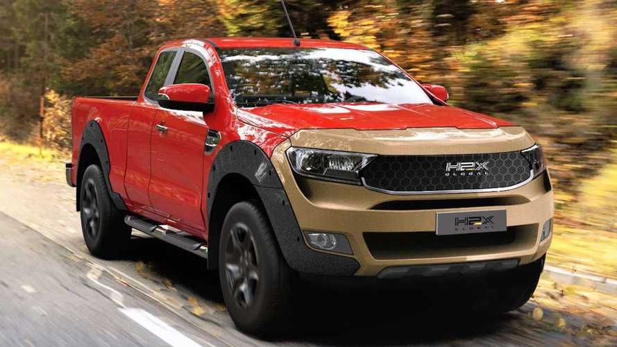 H2X firması, Ford Ranger'ı hidrojenli bir araca dönüştürüyor