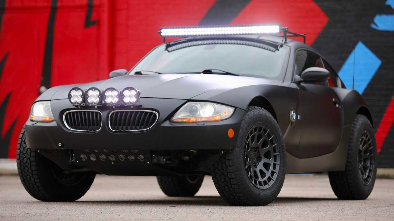 This BMW Z4 M Coupe in Safari-spec is for sale.