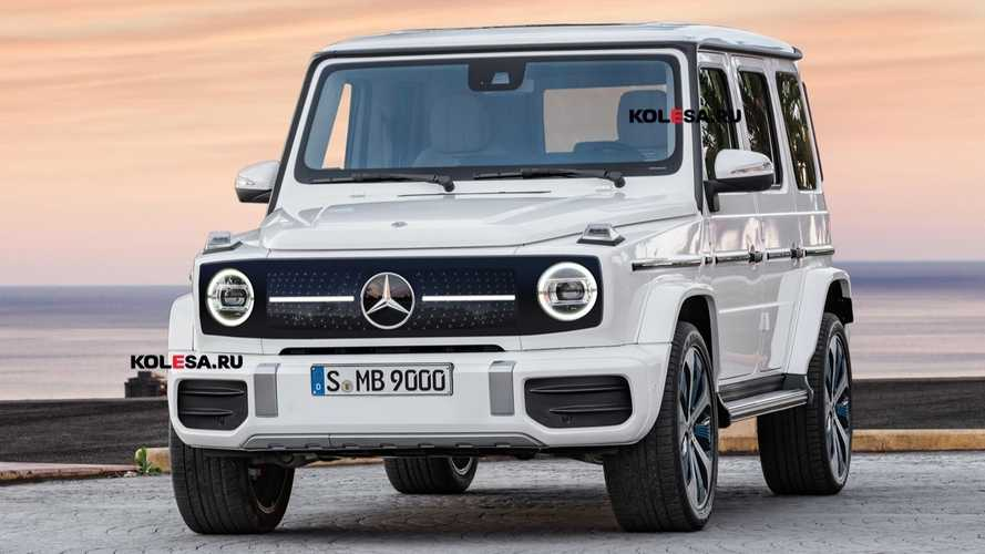 Mercedes EQG Could Keep Ladder Frame, Add Big Battery For Electric G-Class