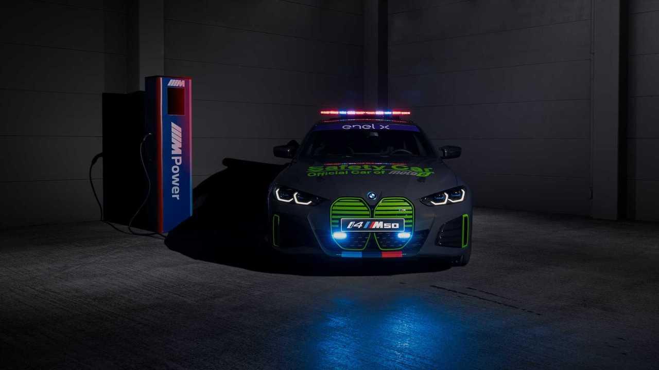 BMW i4 для чемпионата MotoE