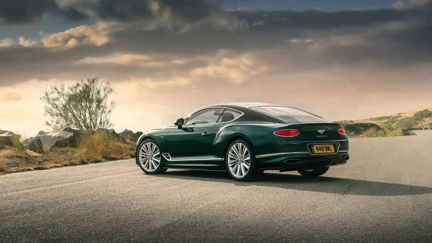 Bentley Continental GT Speed 2021, prueba