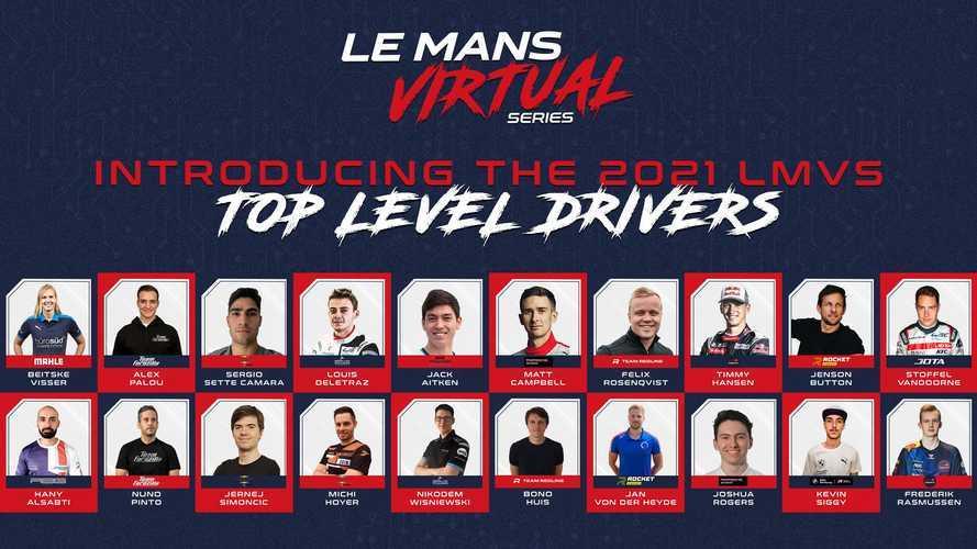 MSGM ve Automobile Club de l'Ouest, 2021-22 Sanal Le Mans 24 Saat Serisi sürücü kadrolarını açıkladı