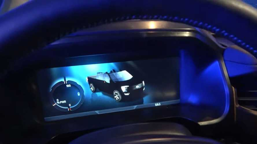 Elektrikli Ford F-150'nin üzeri açık versiyonu da ne?