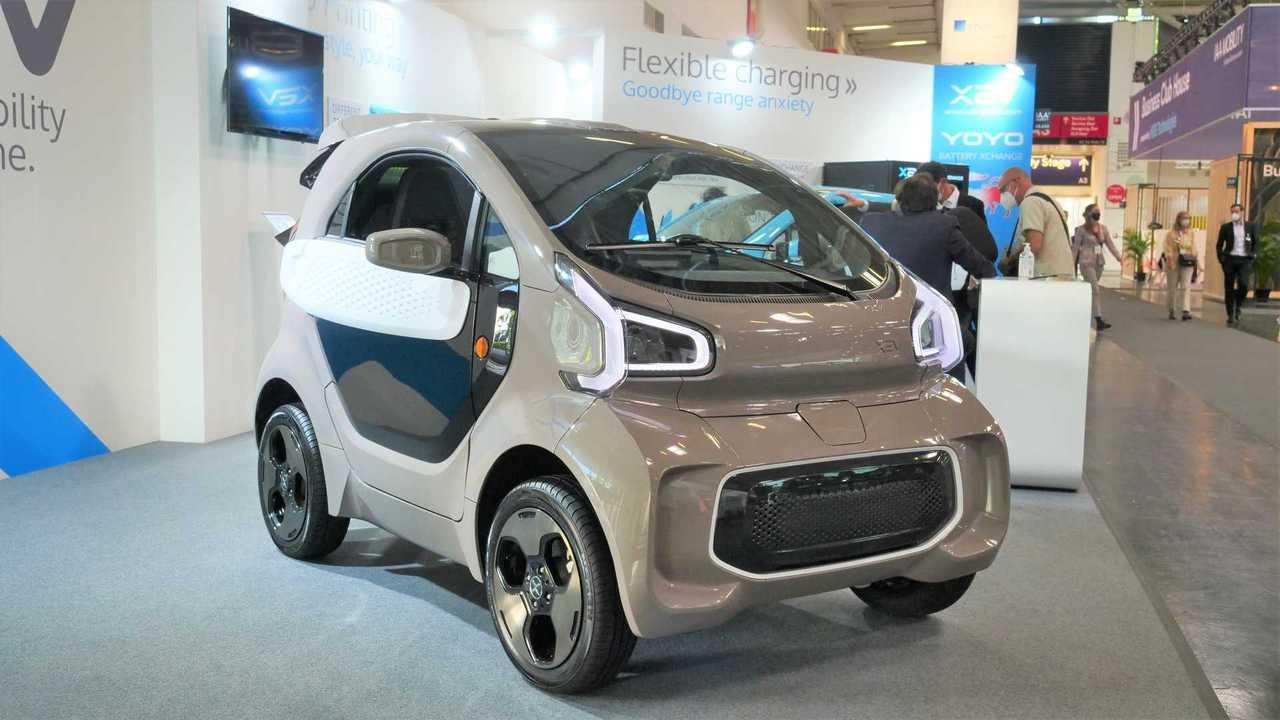 Der XEV Yoyo ist ein winziges Elektro-Leichtfahrzeug