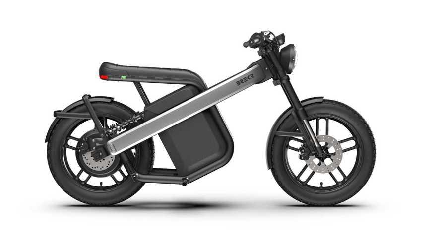 Brekr Modell B: Schicker Elektro-Roller aus Holland auf der IAA