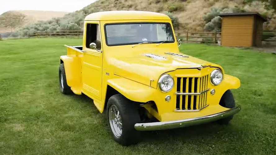 Willys Jeep Truck With $150K Resto-Modification Packs A Ford V8